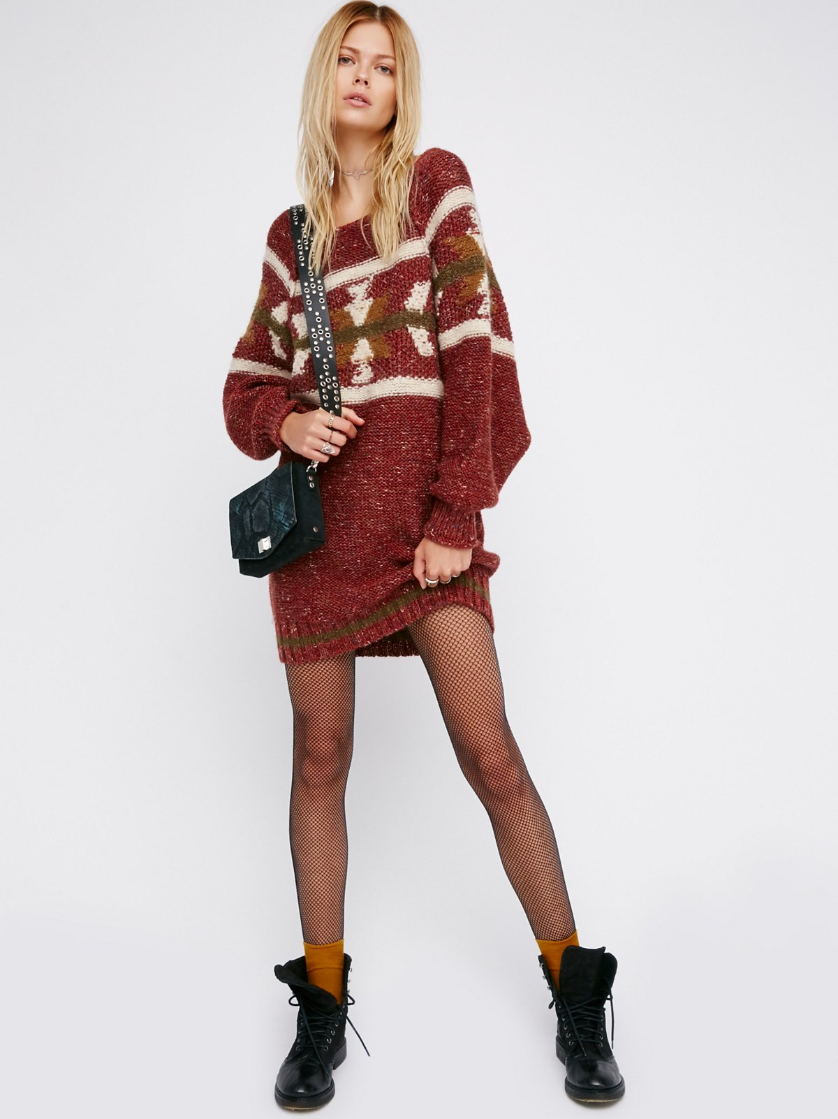 Northern Lights Sweater Dress