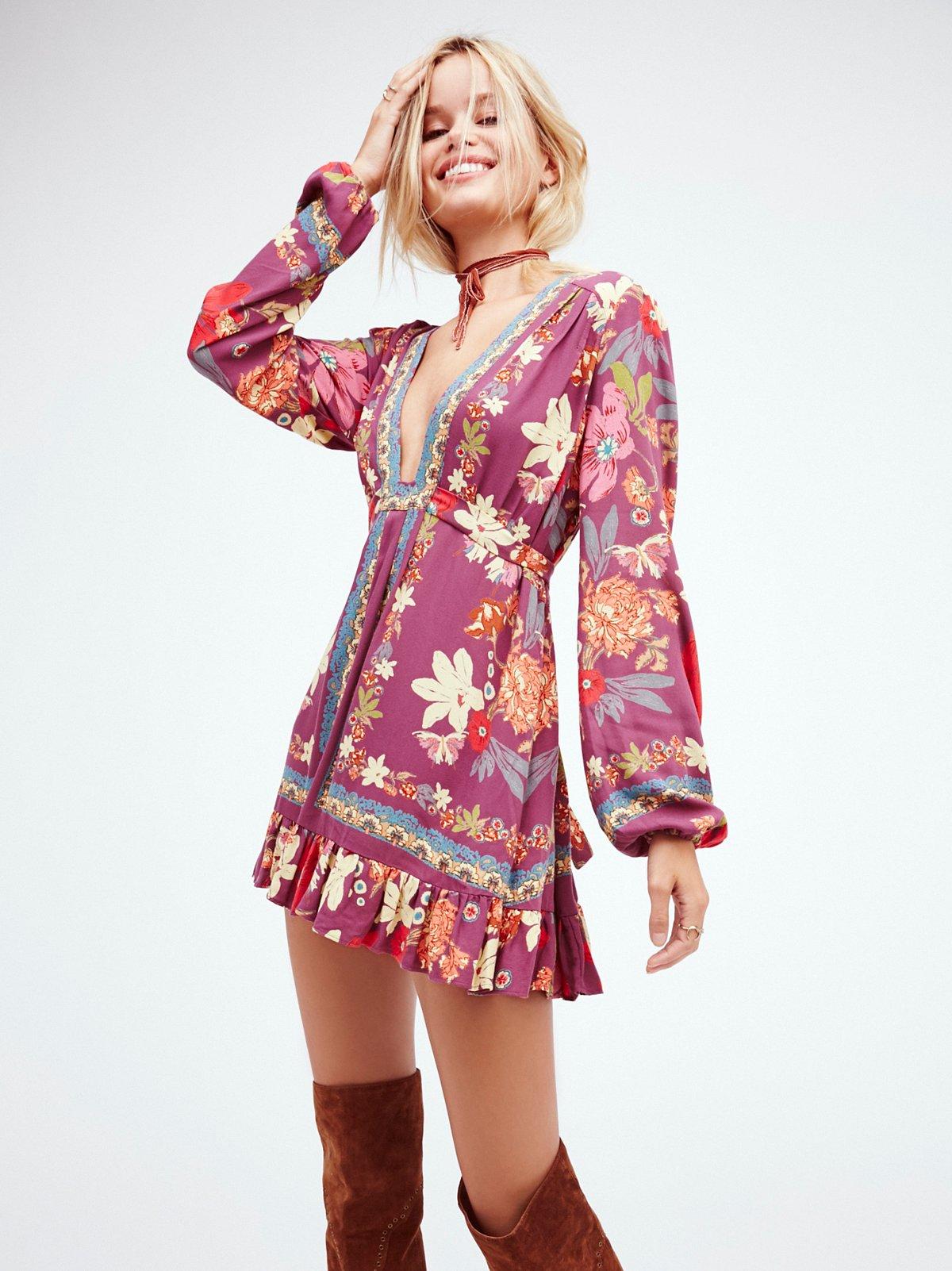 Violet Hill印花裙衫