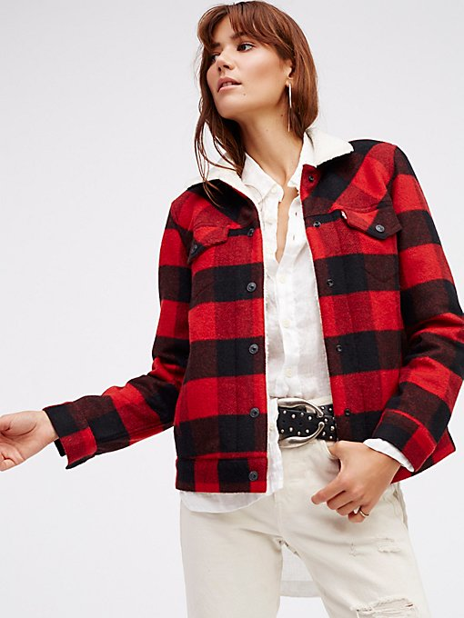 Product Image: Cherry Bomb Plaid Jacket