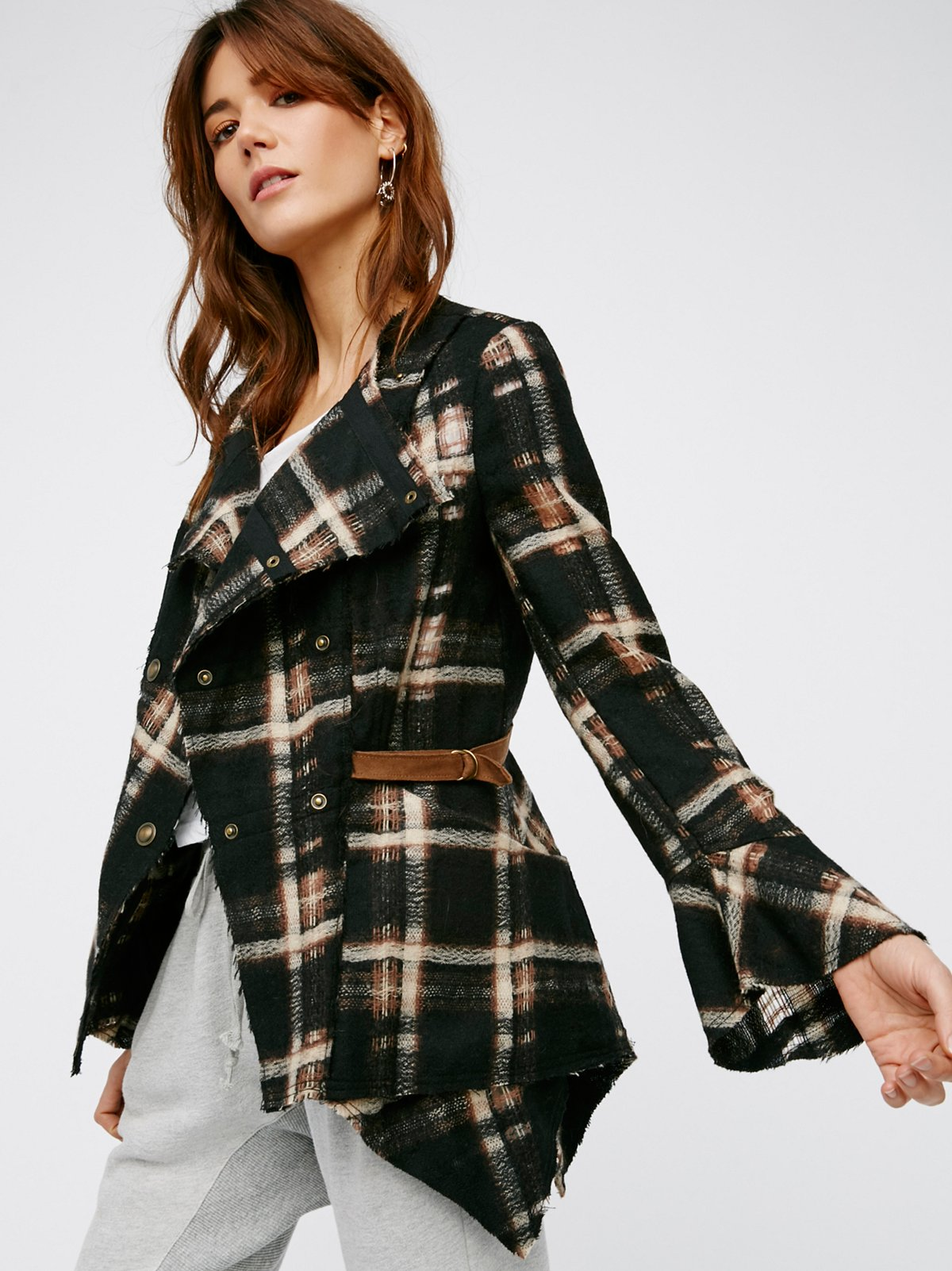 Vivienne Raw Cut Jacket