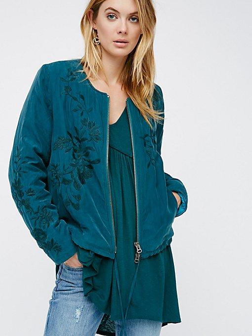 Product Image: 带衬里刺绣夹克