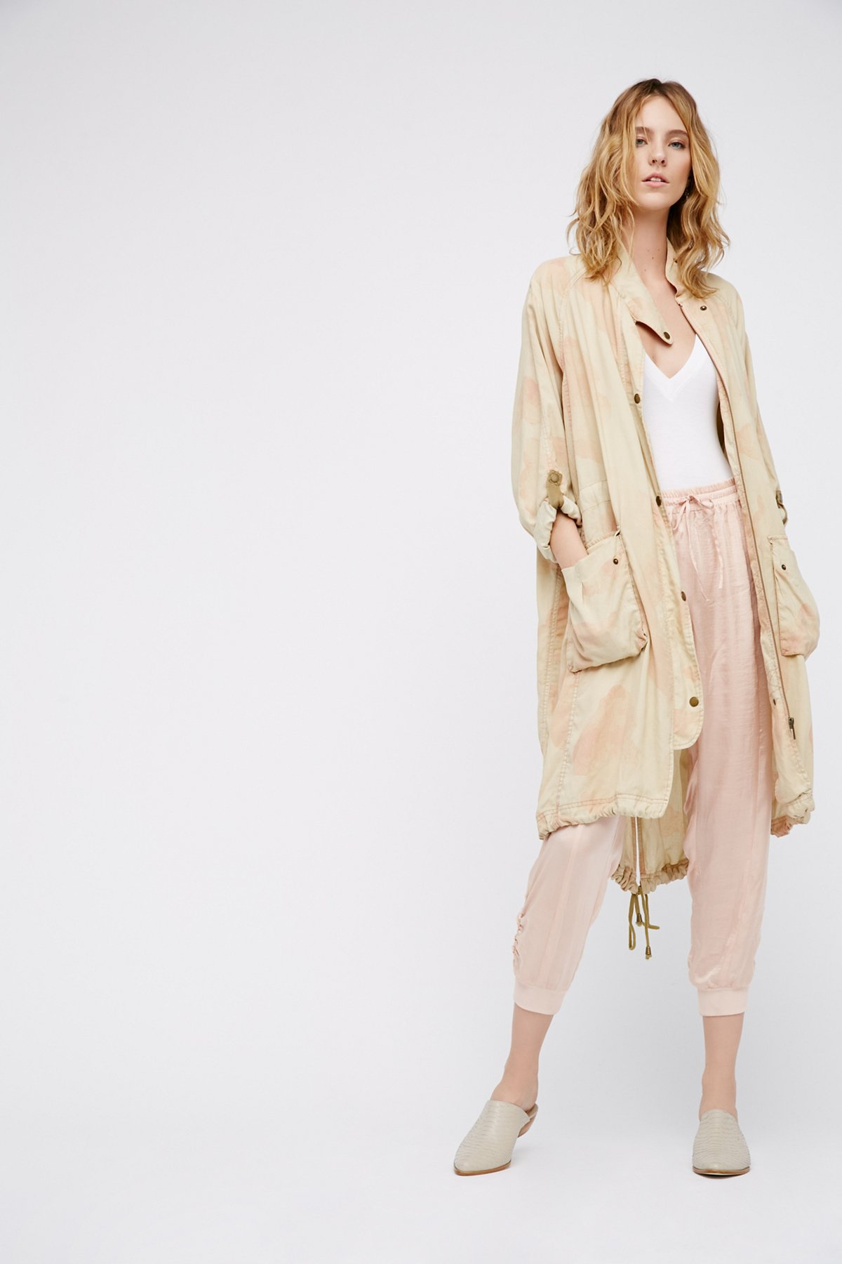 Lightweight Utility Trench Coat