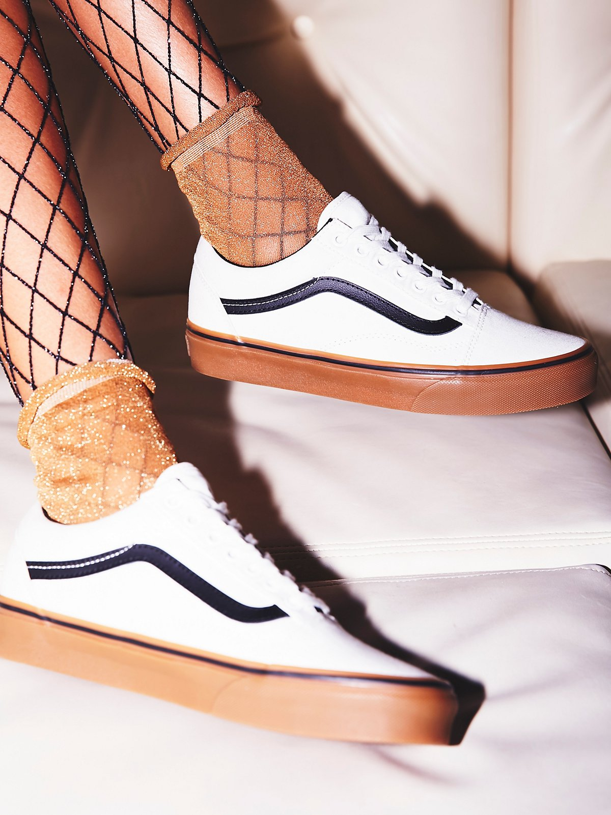 Vans UA Old Skool Gum Sneaker At Free People Clothing Boutique