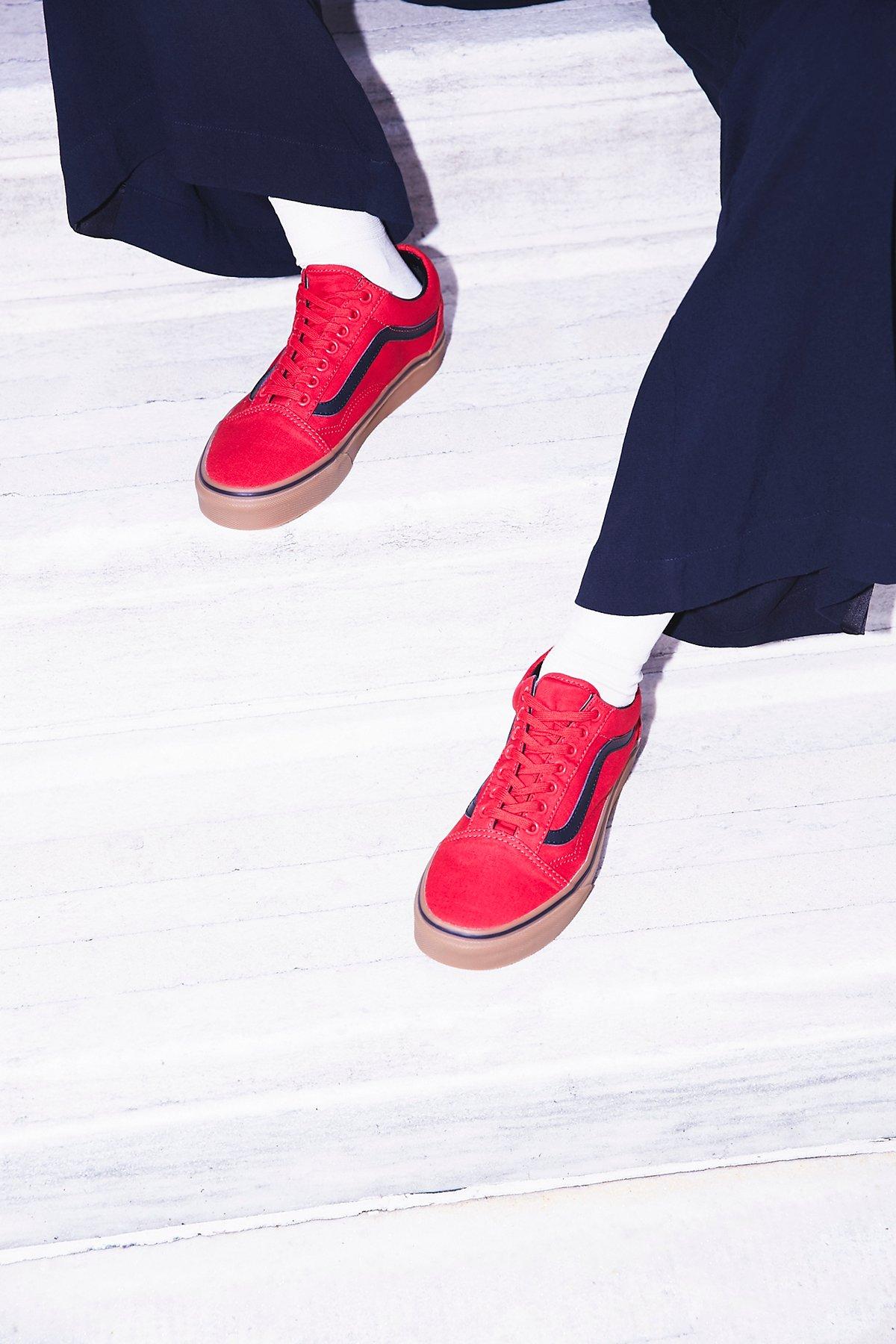 UA Old Skool Gum运动鞋