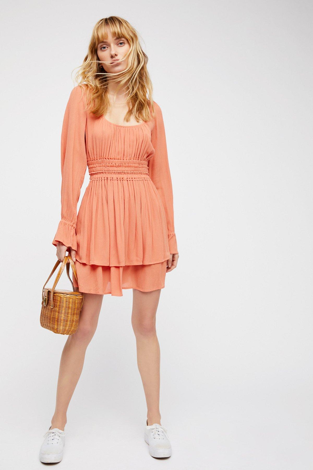 Much Ado Mini Dress