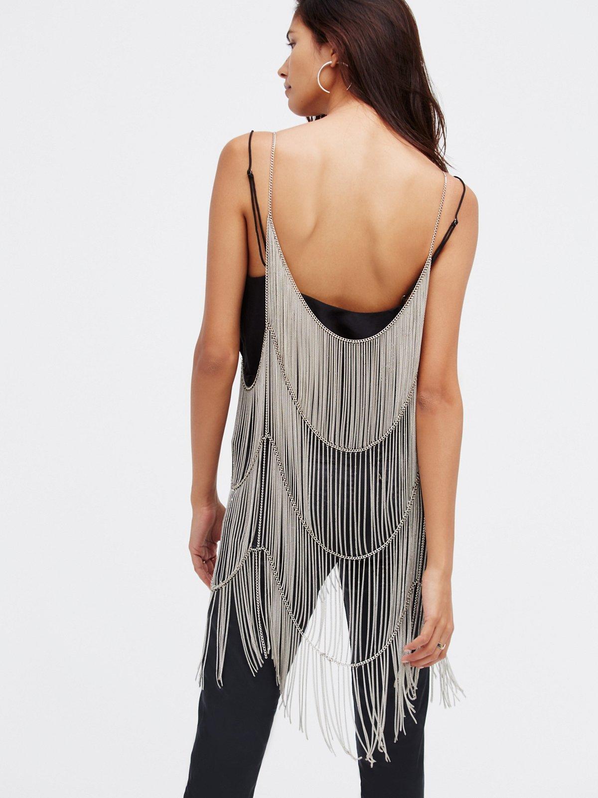 Twist N Shout Chain Dress