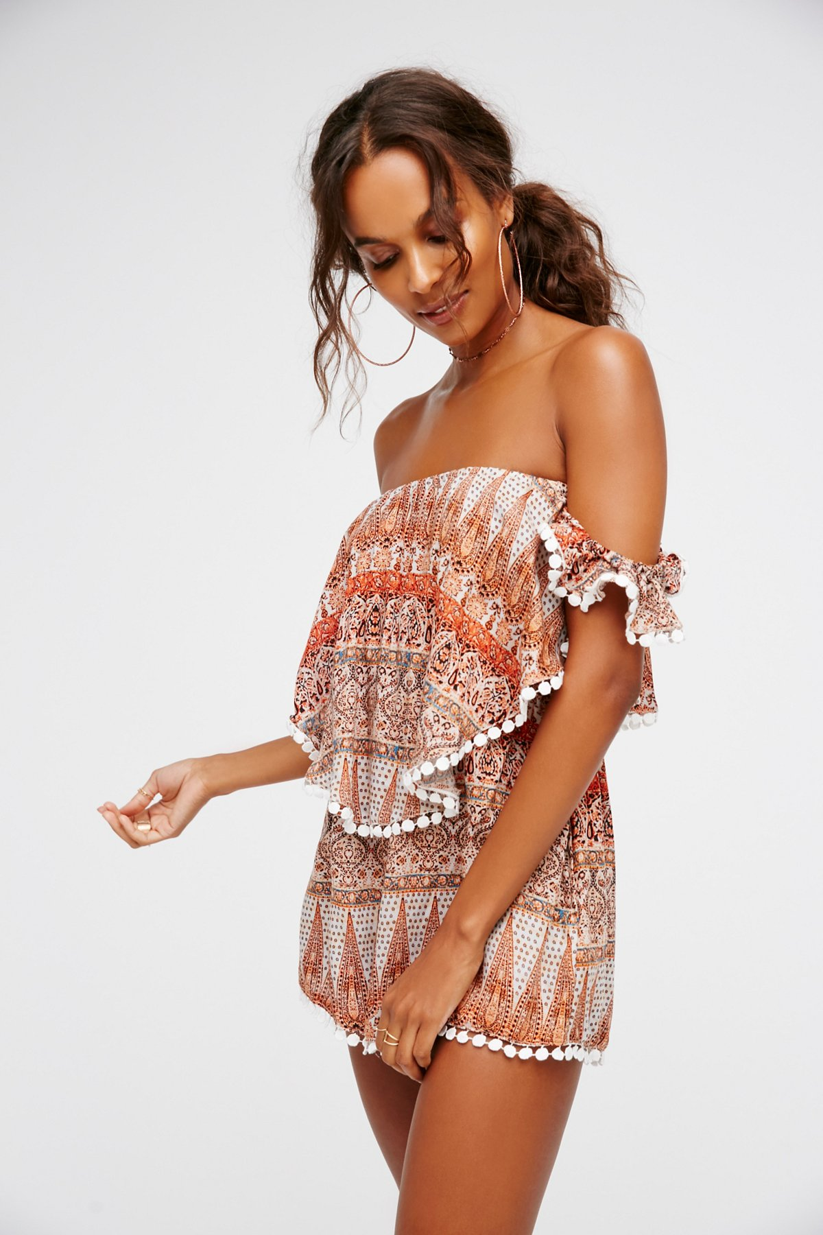 Ruffle My Feather Playsuit