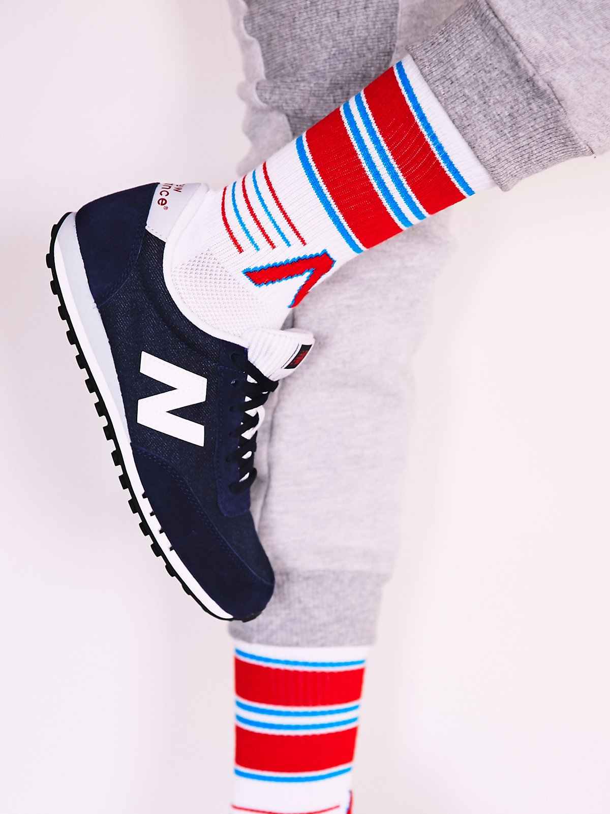 Relay New Balance Sock