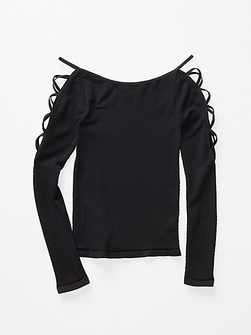 Product Image: Lace Up Sides Layering Top
