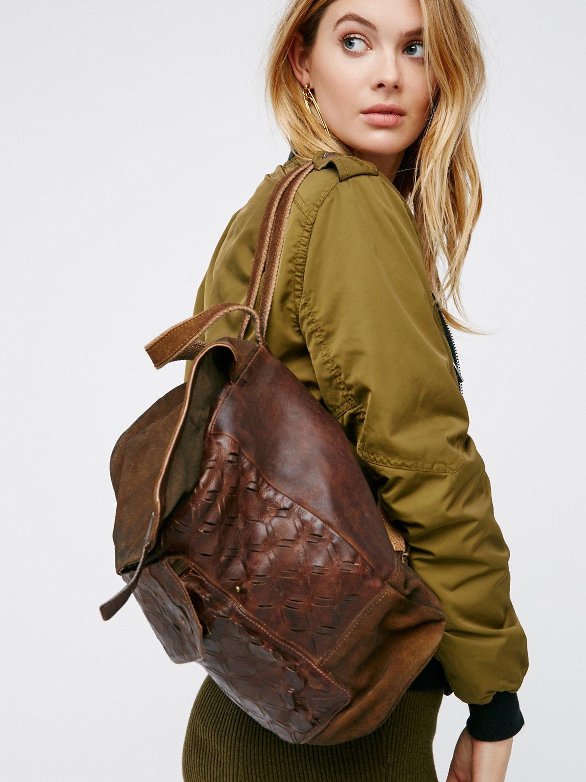 Jennifer Leather Backpack