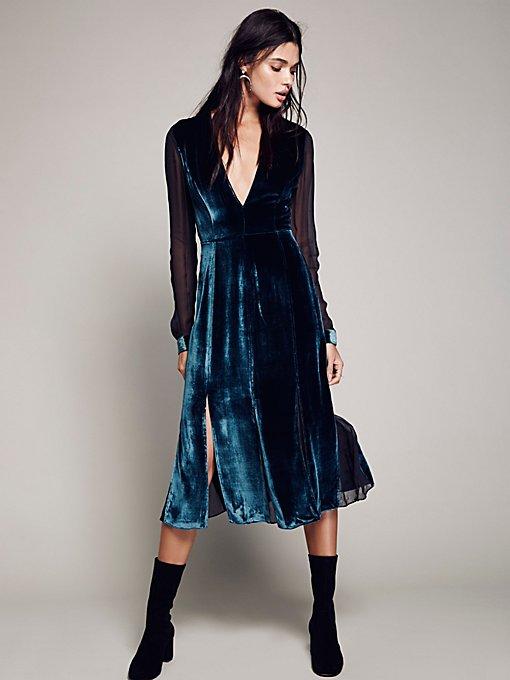 Product Image: Amelina Velvet Dress