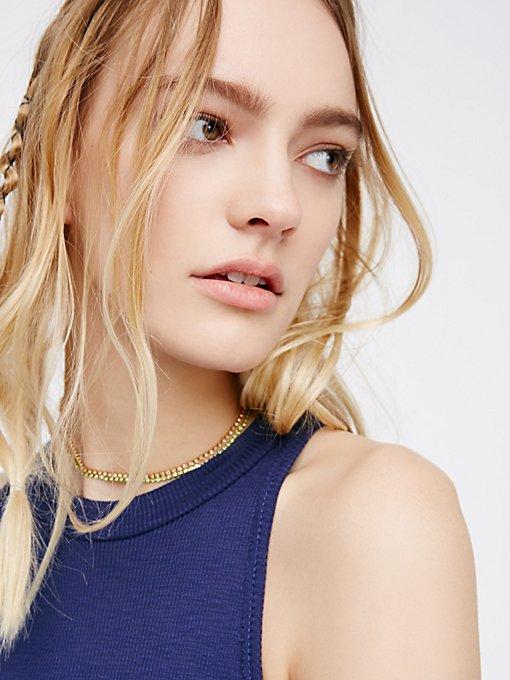 Product Image: 精美宝石颈链套装