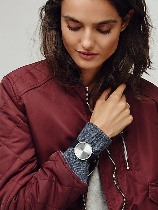 Product Image: SoHo真皮表带腕表