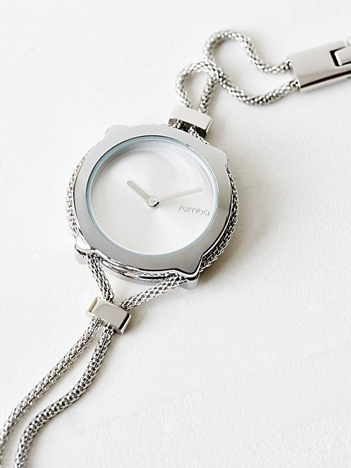 Product Image: Mesh Double Chain Slim Watch