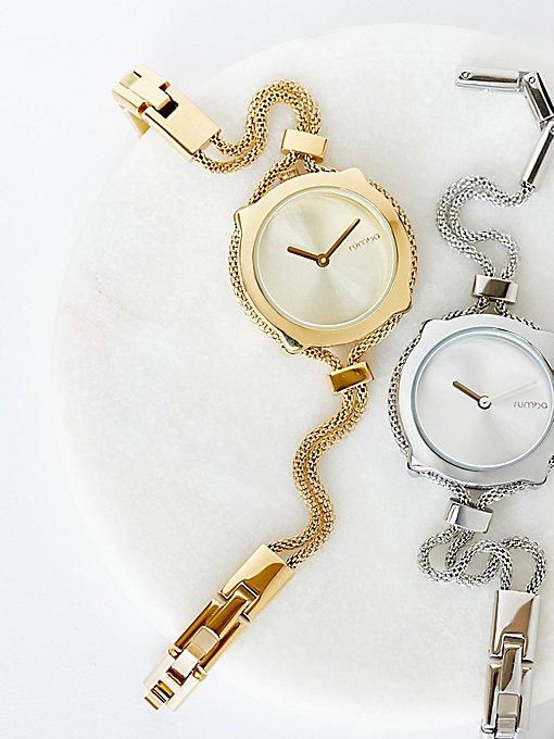 Product Image: 网眼双链条超薄腕表