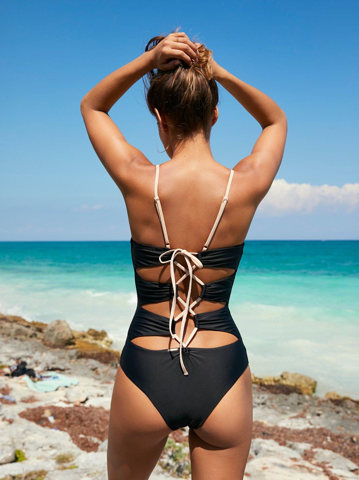 Messier One-Piece Swim Suit