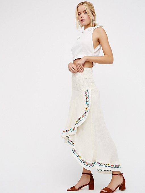 Product Image: All A Dream Embroidered Skirt