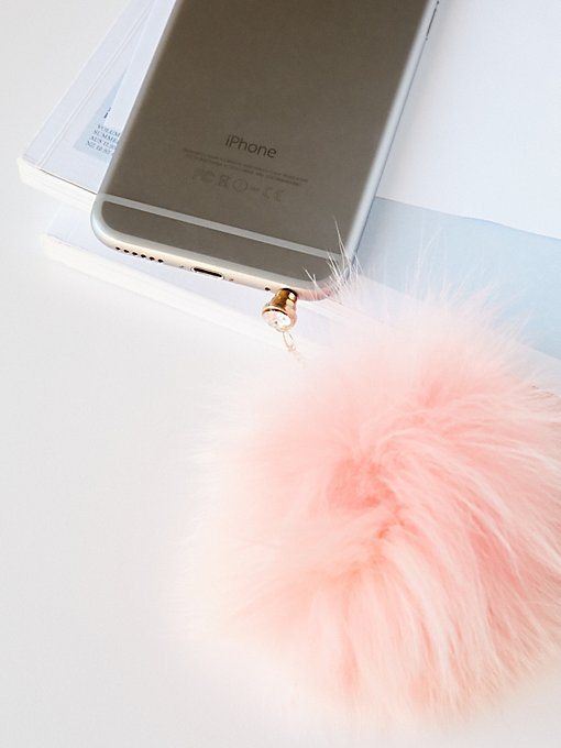 Product Image: 仿毛绒球手机饰品