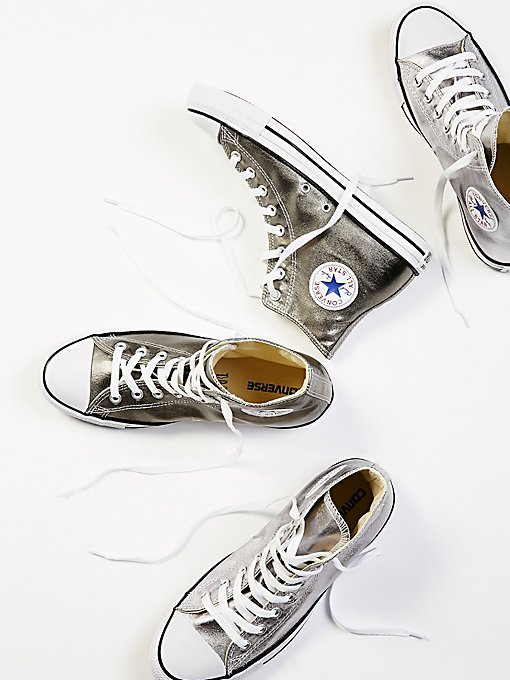 Product Image: Metallic Hi Top Chucks