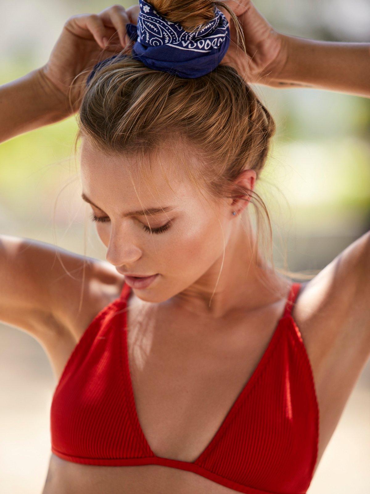 Mirage Rib Bikini Top