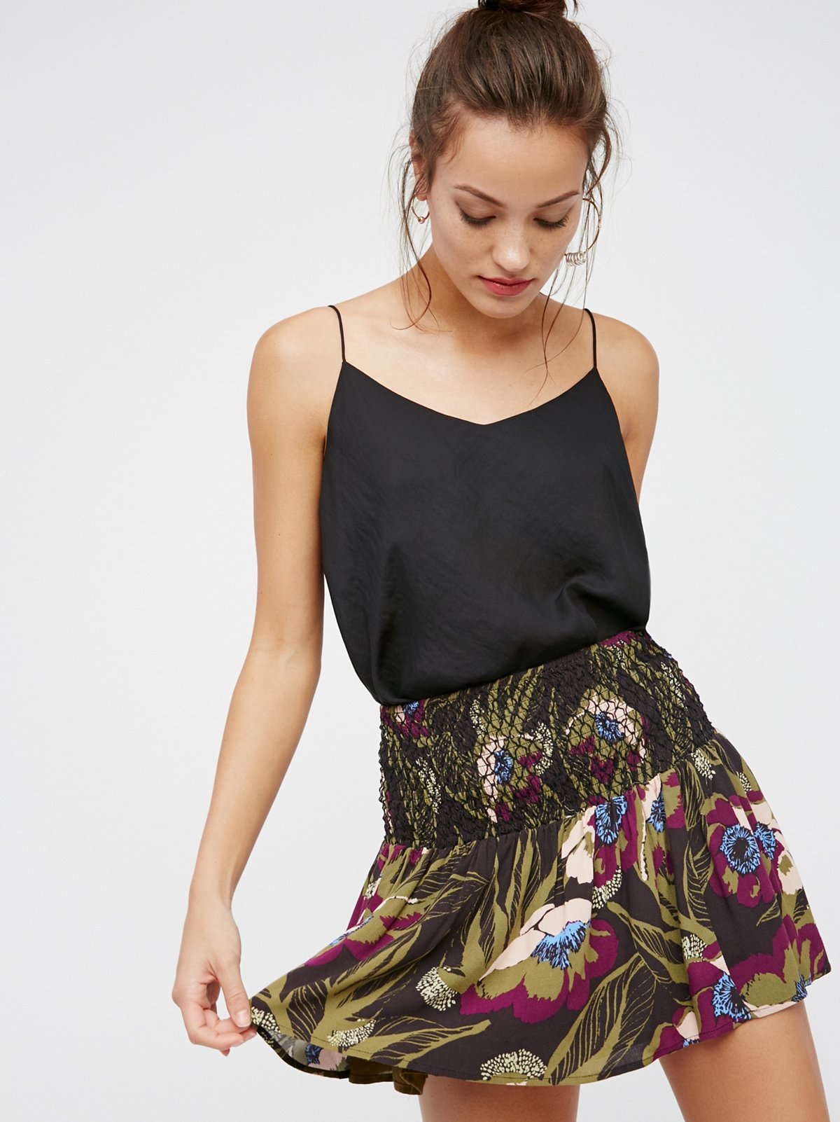 Leave A Trace Mini Skirt
