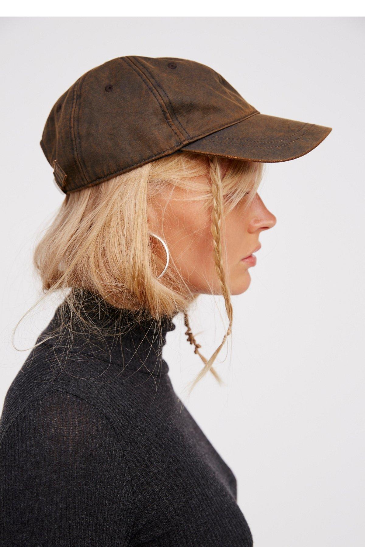 Delancy Distressed Baseball Hat