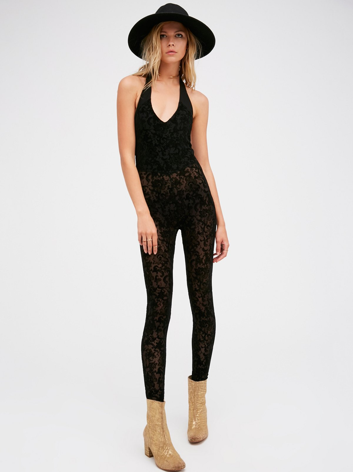 Flock To Trot Catsuit