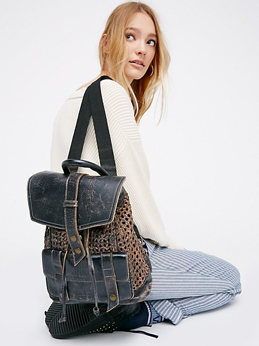Product Image: Naples Woven Backpack