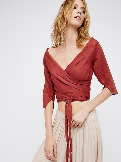 Product Image: Come Back Wrap Top