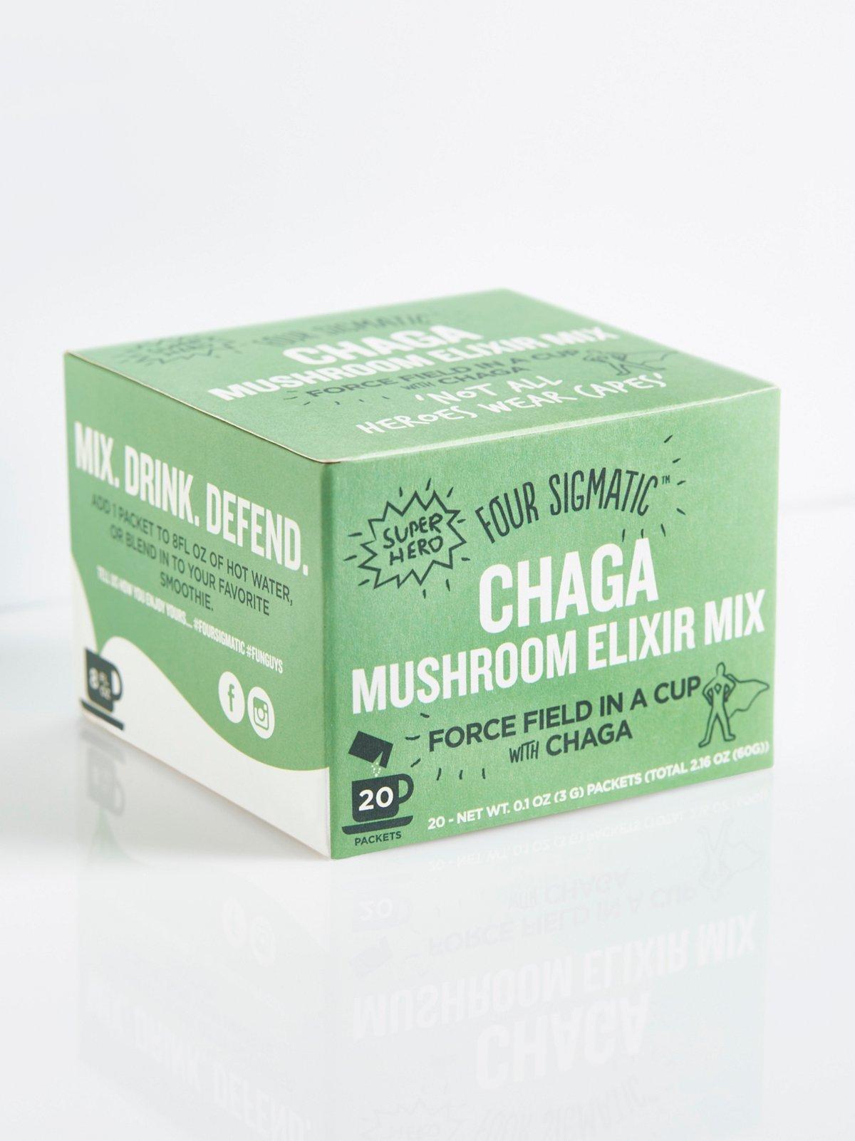 盒装桦褐蘑菇