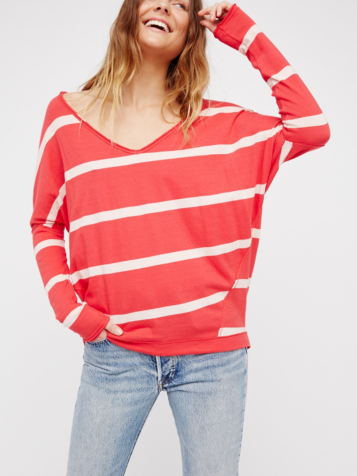 Upstate Stripe Tee