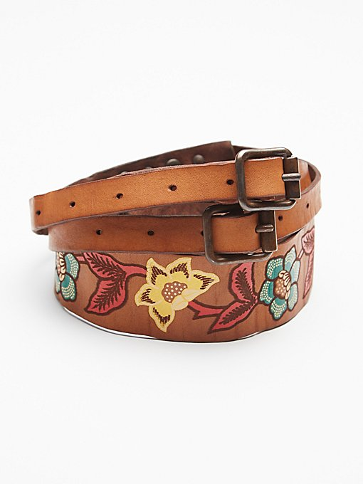 Product Image: Painted Leather Waist Belt