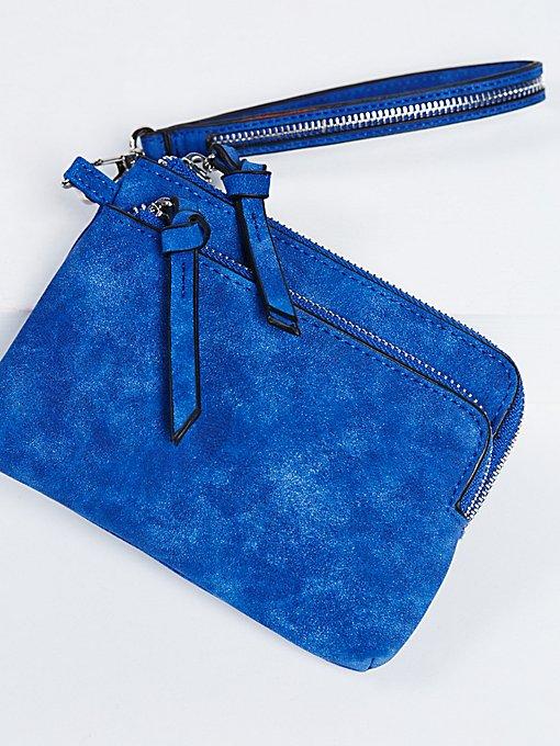Product Image: Double Pocket Wristlet