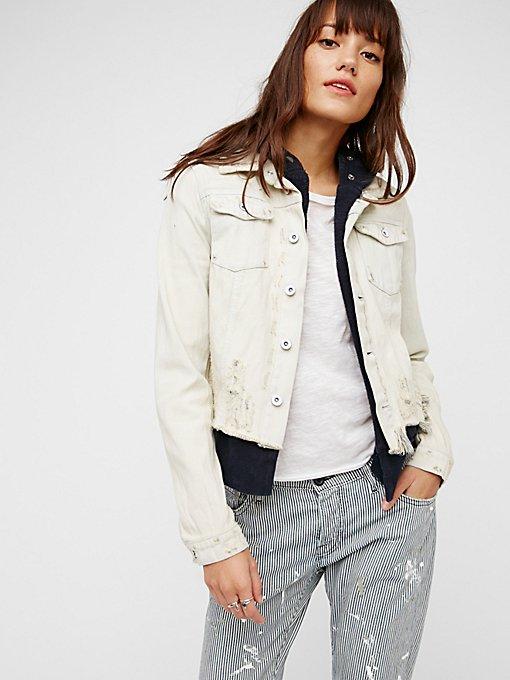 Product Image: Double Weave Denim Jacket