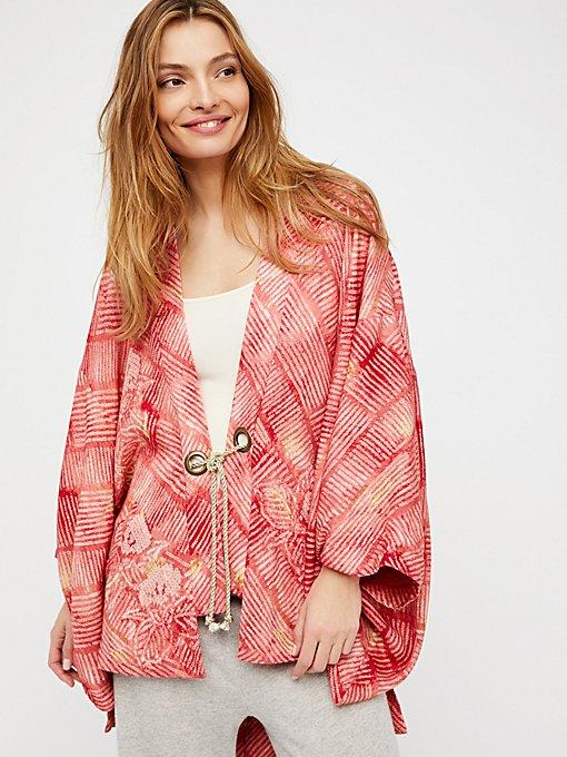 Product Image: Shibori Printed Kimono