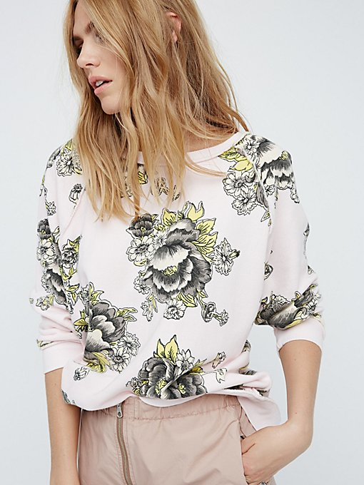 Product Image: Go On Get Floral Pullover