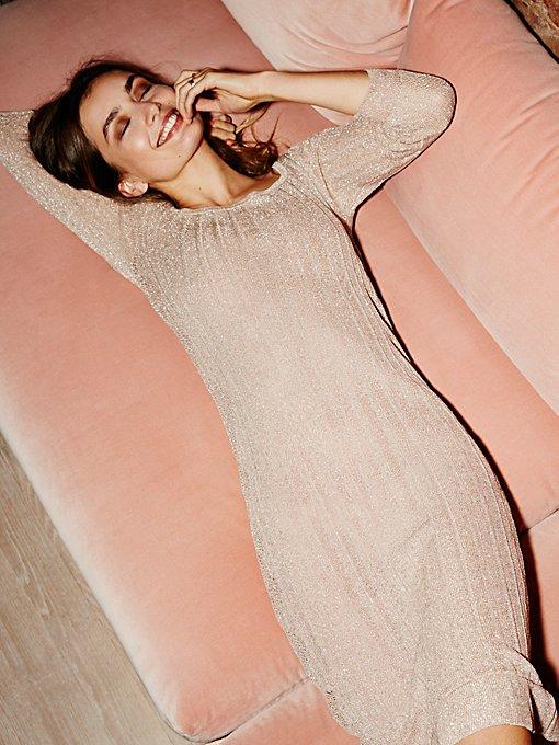 Product Image: Astrid Pointelle Midi Dress
