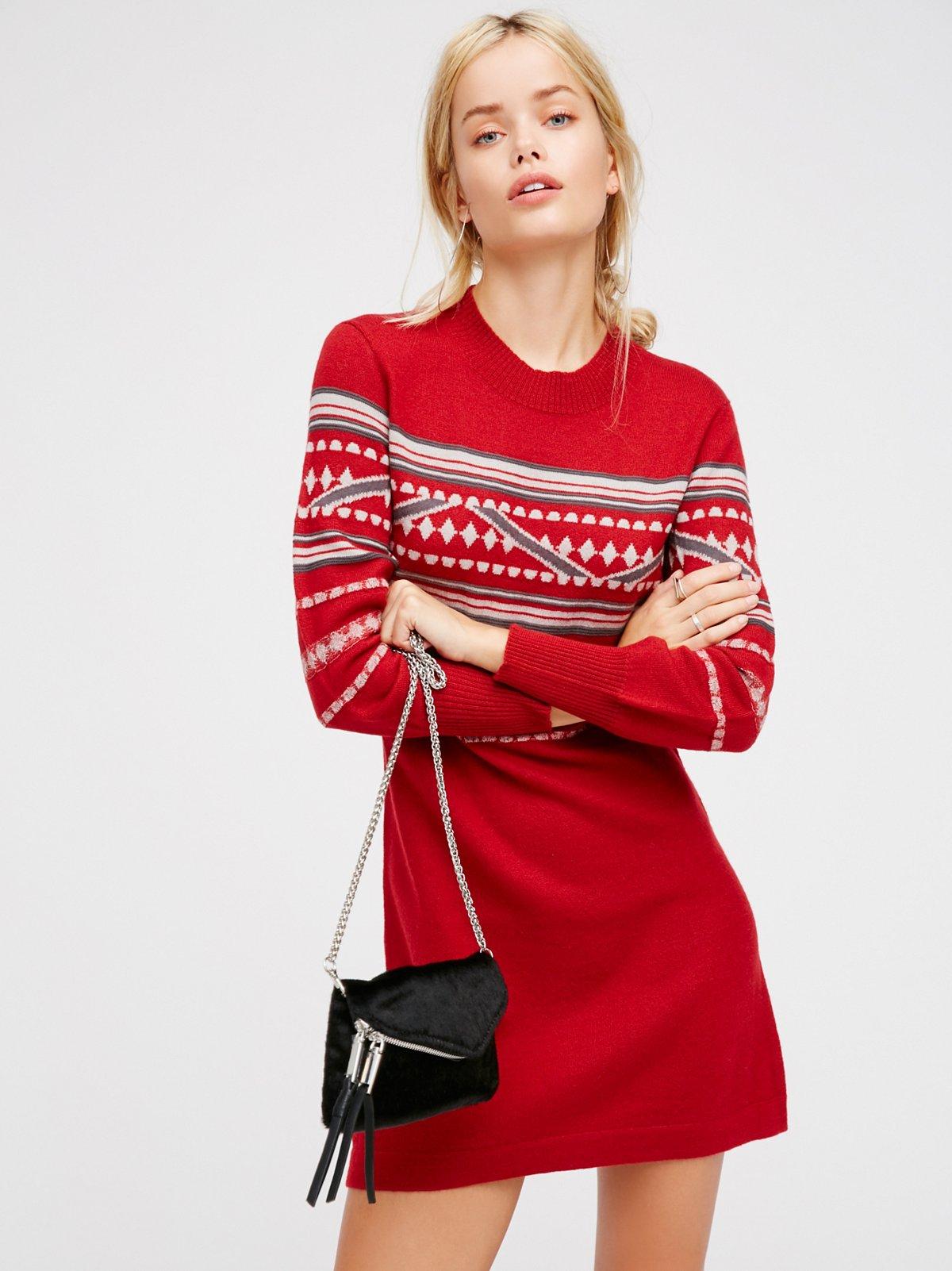 Hot Cocoa Mini Dress