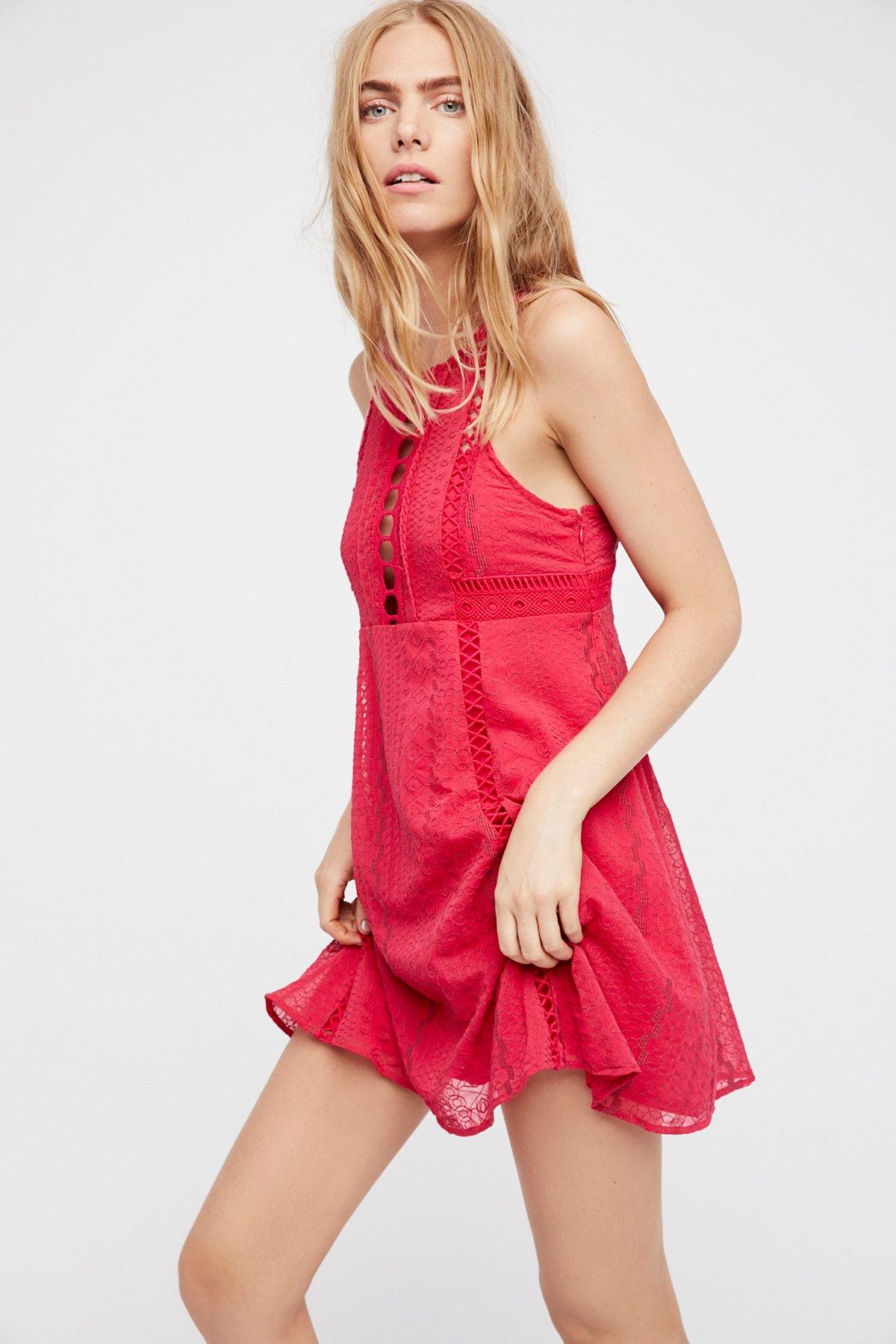 Wherever You Go Mini Dress