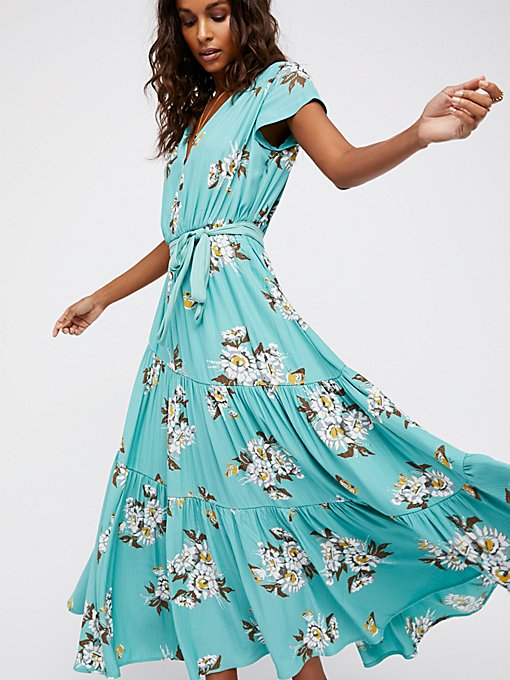 Product Image: All I Got Printed Maxi Dress
