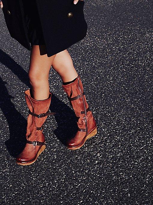 Product Image: Meereen坡跟过膝长靴