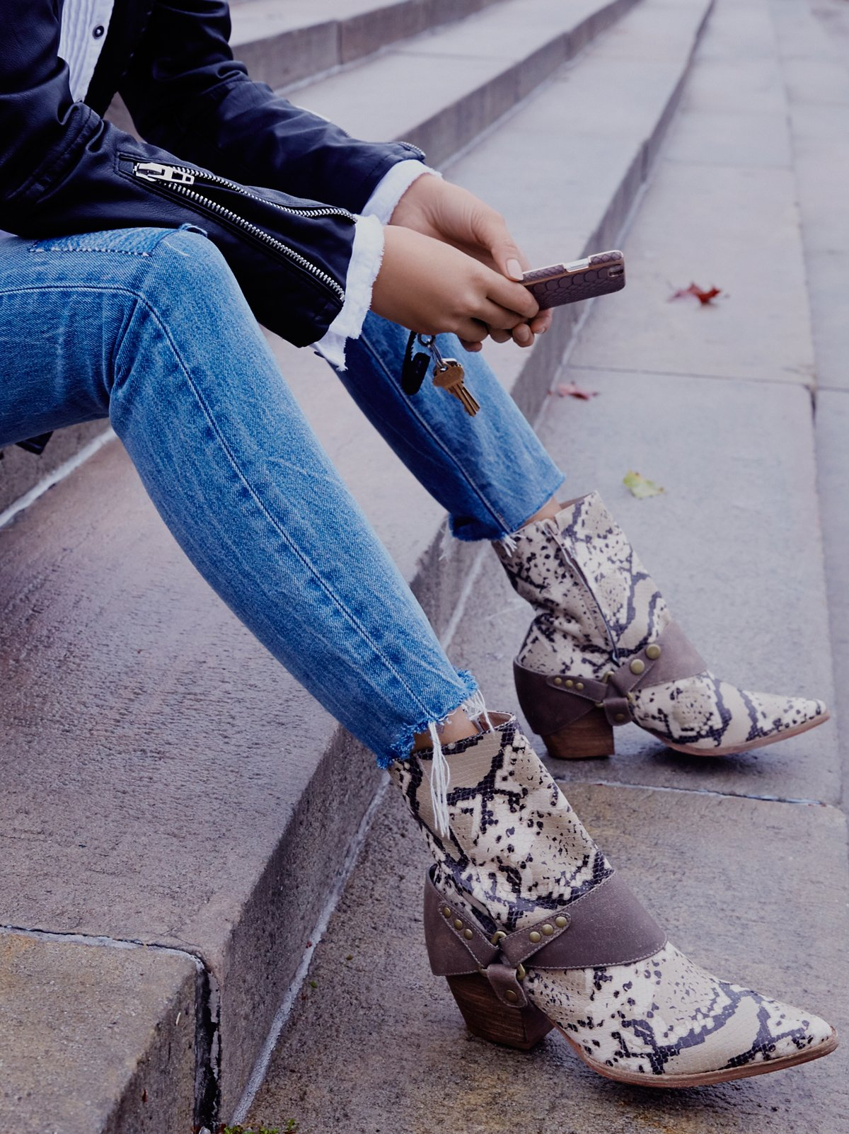 Rattlesnake西部靴