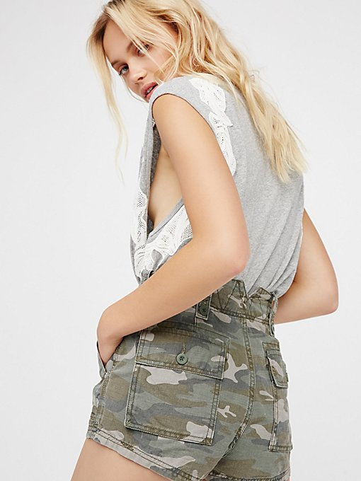Product Image: Hi Waisted Military Short