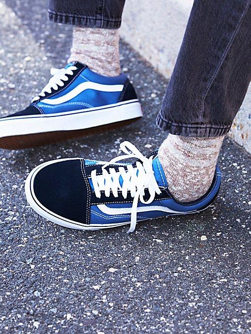 Product Image: Navy Old Skool Sneaker
