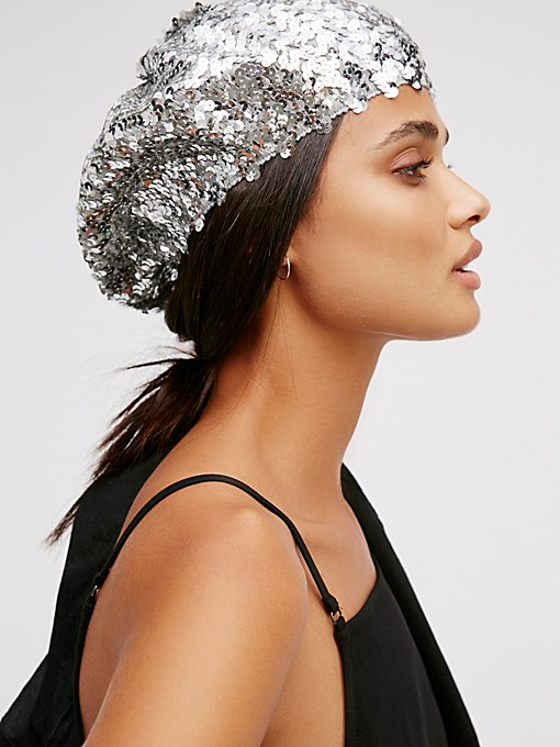 Product Image: Up All Night Sequin Beret