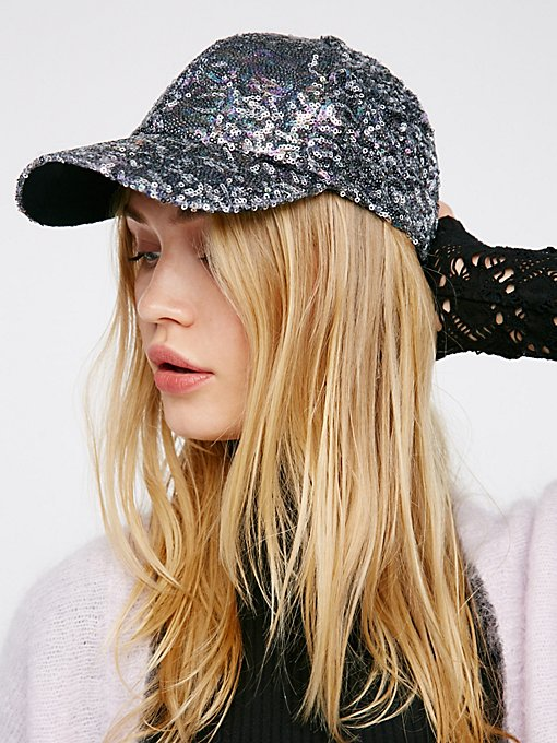 Product Image: Shine On Sequin Baseball Hat