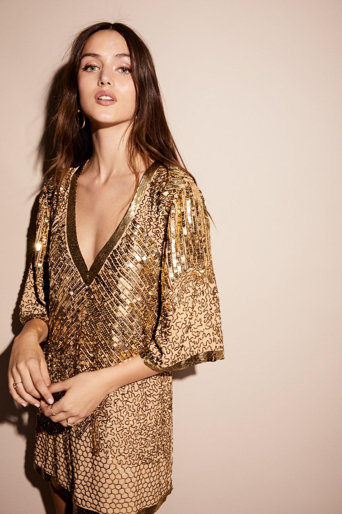 Stardust Sequin Mini Dress