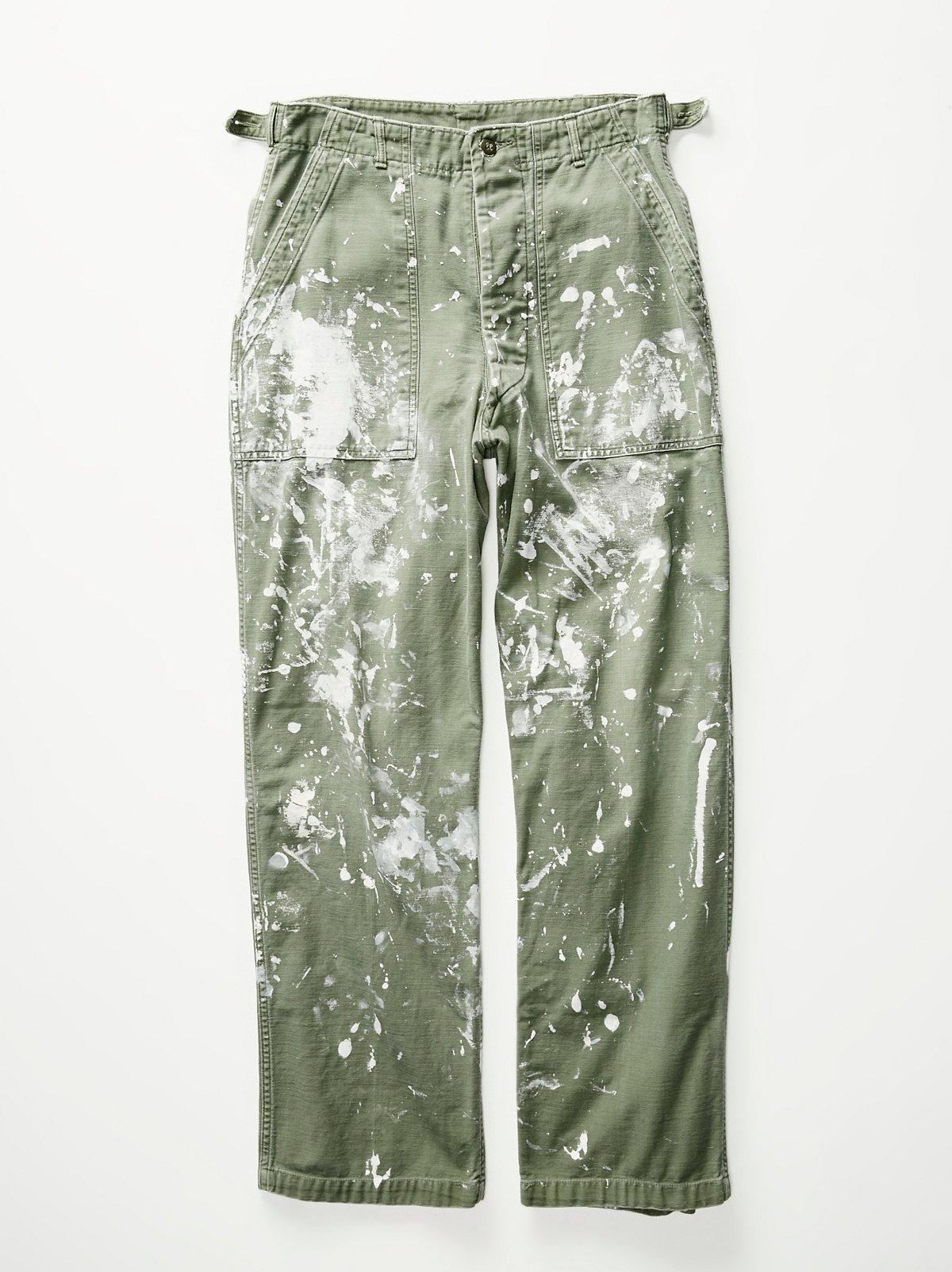 Vintage 1960s Military Pants