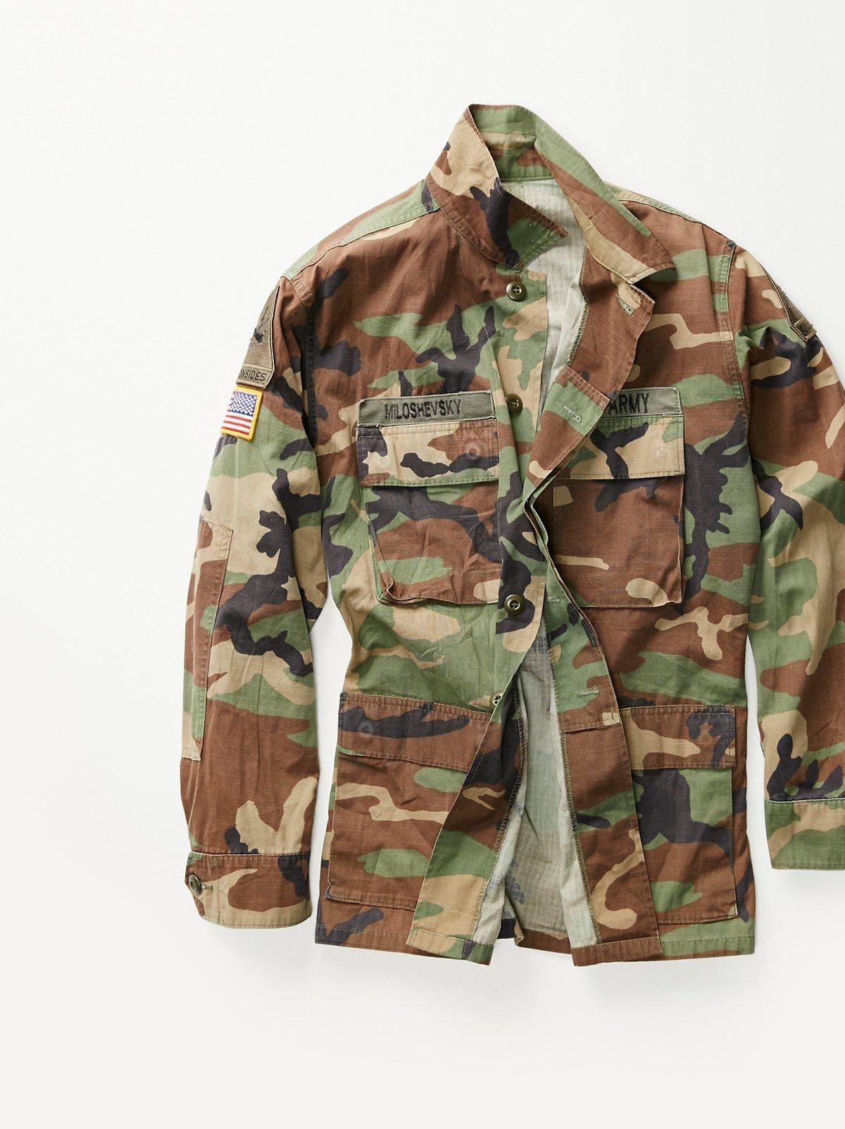 Vintage 1990s Army Jacket