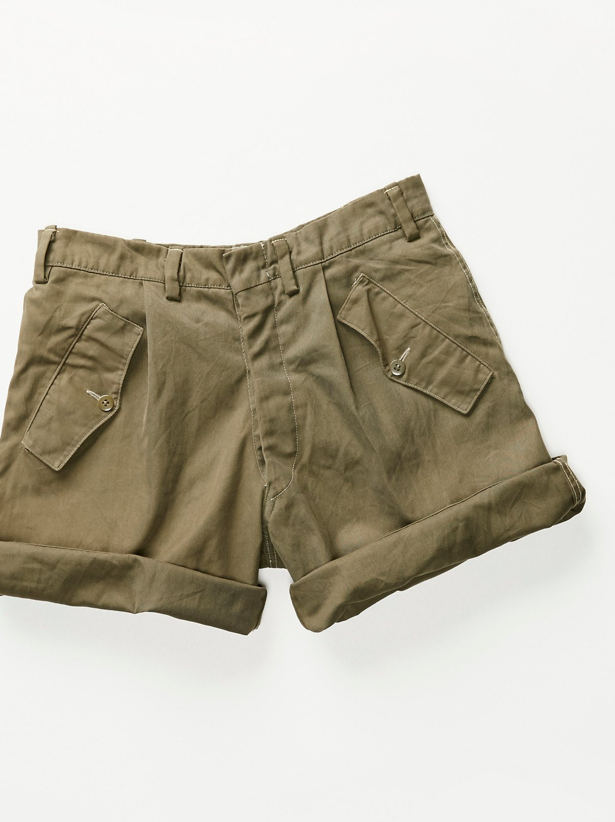 Vintage 1960s Military Shorts